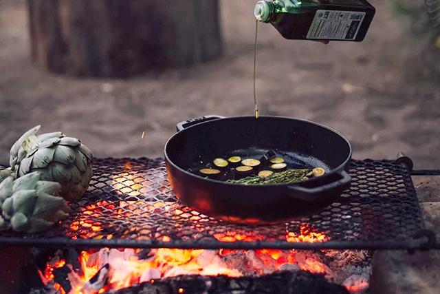 посуда для мангала