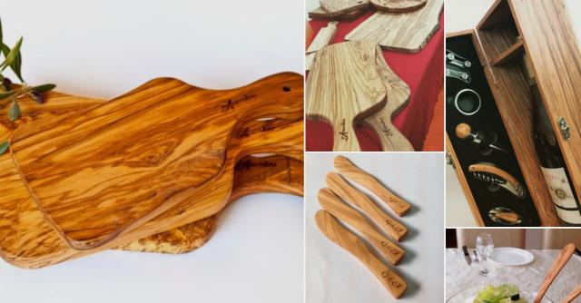 Arte In Olivio итальянская посуда из оливкового дерева