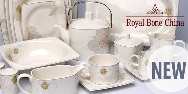 Royal Bone China — новый фарфор на Vazaro