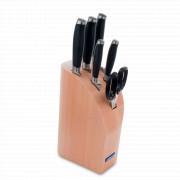 Набор ножей 5 штук + ножницы в подставке, серия KYOTO, ARCOS, Испания, Серия Kyoto