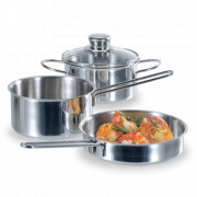 Набор посуды, 3 предмета, серия Snack set, FISSLER, Германия, Наборы посуды