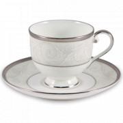 Набор из 6-ти чайных пар Ноктюрн, объем: 240 мл, материал: фарфор, серия Ноктюрн, NARUMI, Япония, Японский фарфор