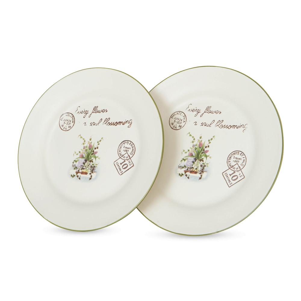 Серия тарелок букет лаванды — 8